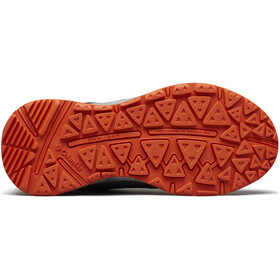 Columbia Drainmaker IV Chaussures Enfant, graphite/tangy orange